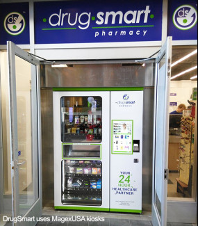 MagexUSA Drugsmart, Automated Pharmacy, Self Service Drug Store