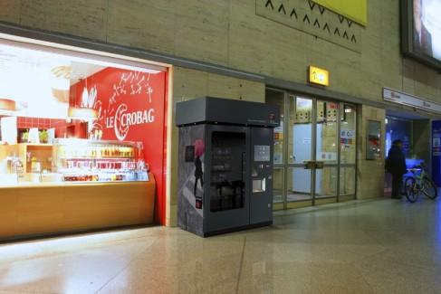 MagexUSA Accessory Kiosk:  MagexUSA, Accessory Kiosk,  Automated Retailing, Intelligent Vending Manufacturer,