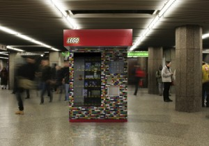 MagexUSA LEGO Kiosk –  Subway