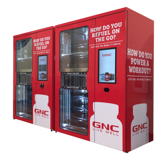 MagexUSA Easy Dual GNC Vending Machine