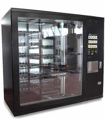 Premier Custom Vending Automated Retailing System