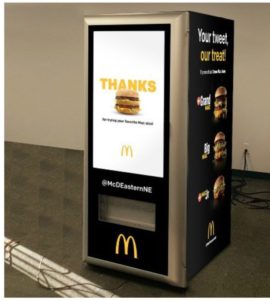 McDonald's Installs Big Mac Vending Machine