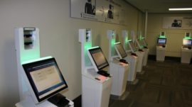 facial recognition kiosks