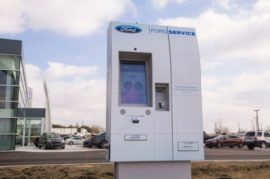 vehicle service kiosks