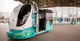 London's Driverless Shuttle