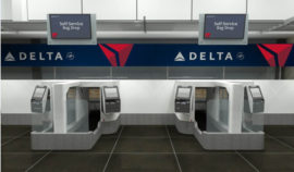 Delta Facial Recognition Kiosks