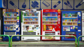 vending machines are everywhere in Japan