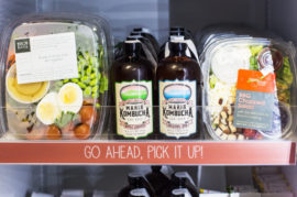 Reinventing Vending Machines with Fresh Local Food
